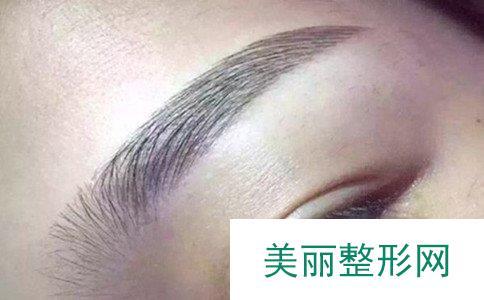 纹眉多久可以补色、纹眉毛一般多少钱